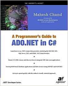 Best book for ado net in c#