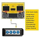 Sharpshooter Dual Shot Basketball Arcade Game, 8