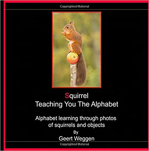 Squirrel Teaching You The Alphabet: Alphabet learning through photos of squirrels
