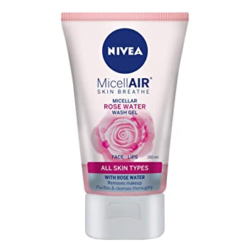 Amazon.com: Nivea MicellAIR piel respirar micelar rosa gel ...