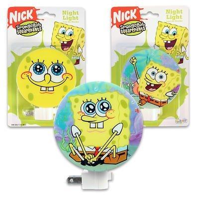 Night Spongebob Light - Nickelodeon Sponge Bob Square Pants Night Light