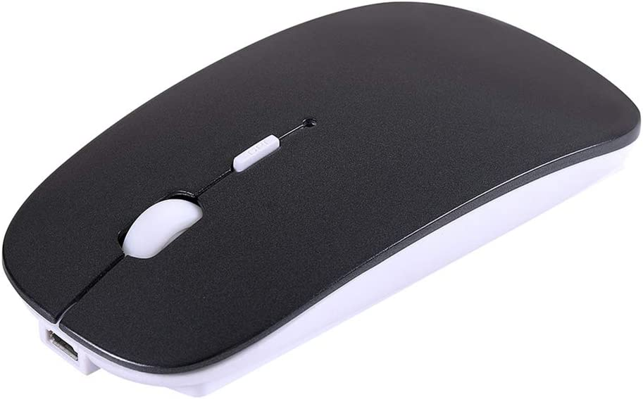 Silent Mouse Computer Office Portable Mobile Optical Mouse for Laptop Notebook Computer Wireless Mouse Rechargable