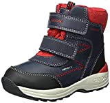 Geox Boys' New Gulp Abx 1 Ankle Boot, Navy/Red, 26 M EU Toddler (9 US)
