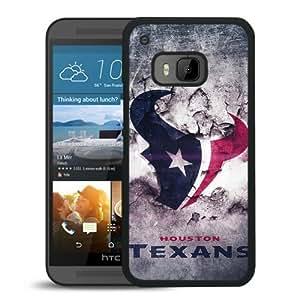 Houston Texans Black HTC ONE M9 Screen Phone Case High Quality Handmade Cover