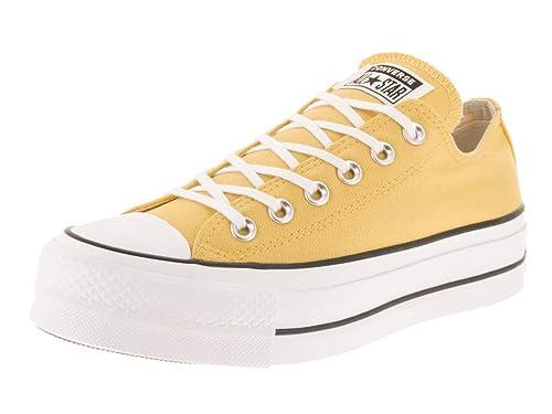 Converse Chuck Taylor All Star Lift Damen Butter Gelb Ox Sneakers