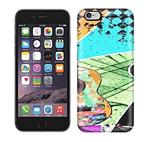 Best Power(Tm) HD Colorful Painted Watercolor Full Of Colour And Life Melody Guitar Hard Phone Case For Iphone 6 Plus