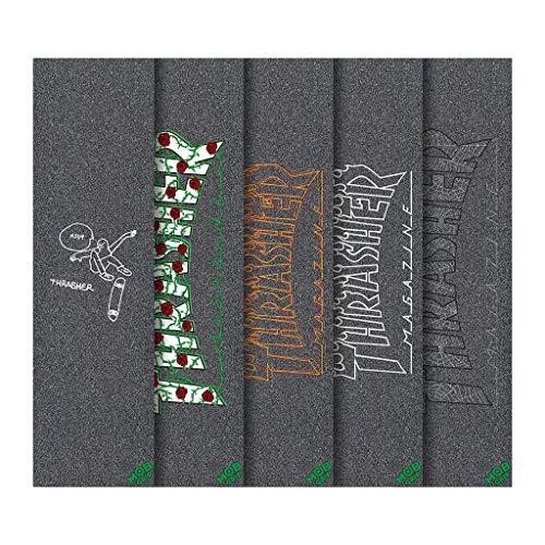 Mob スケートボード グリップテープ スラッシャー 5枚パック 9インチ x 33インチ グリップテープシート