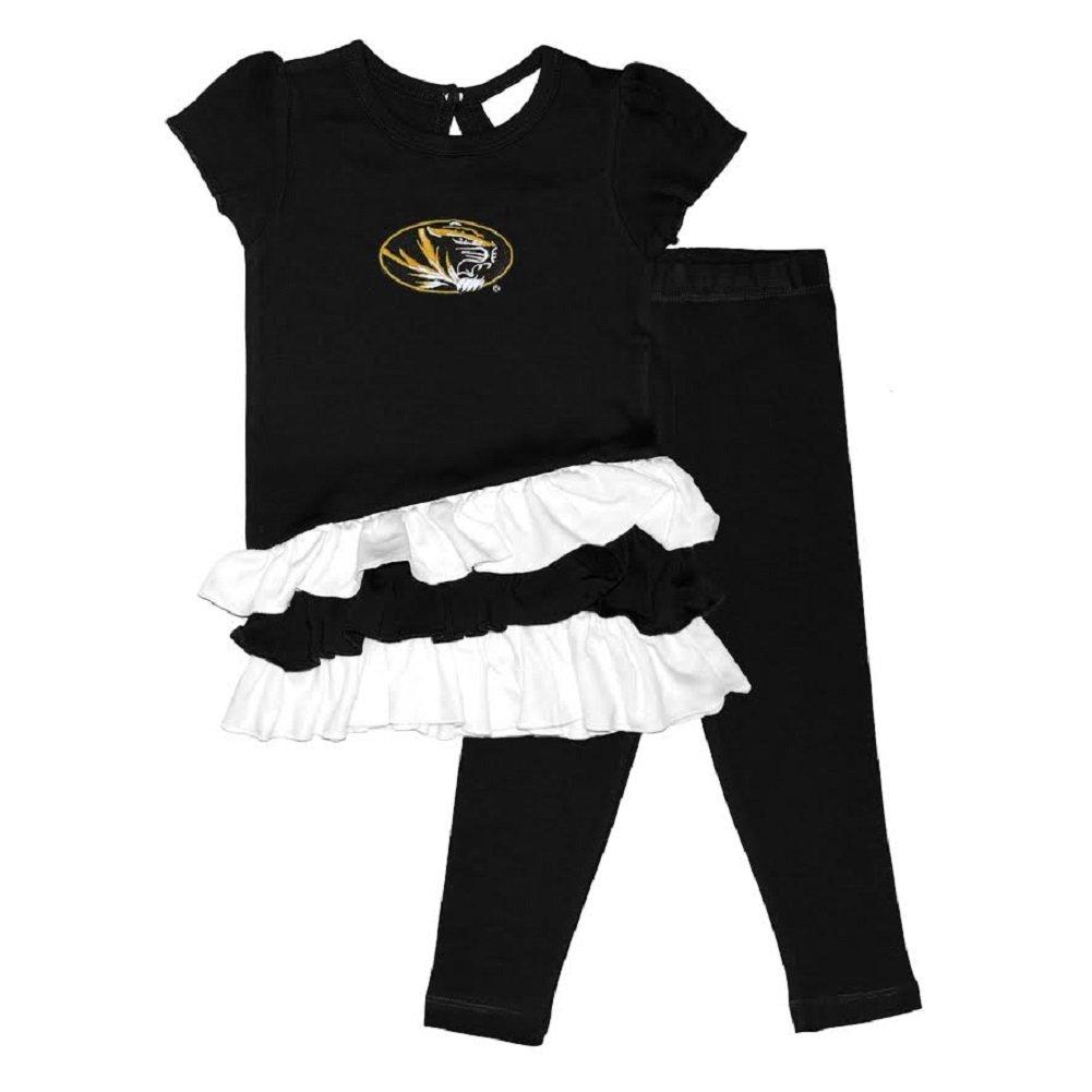 Toddler Girls Missouri Tigers Bias Top and Leggings Set Size 4T