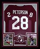 Adrian Peterson Framed Jersey Signed JSA COA Autographed Oklahoma Sooners Vikings