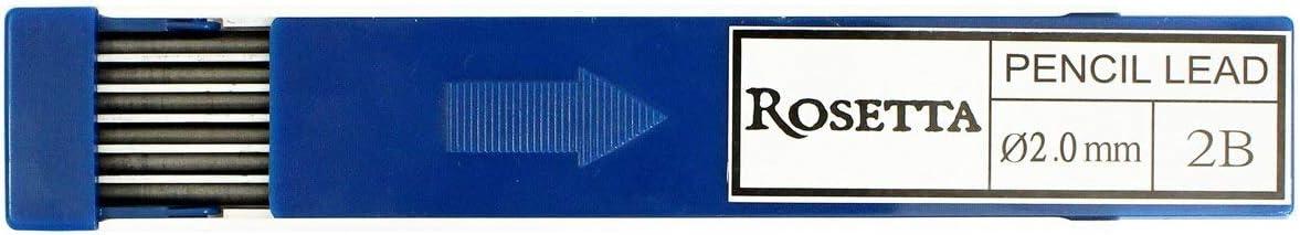 Rosetta Da Vinci 2 mm Mechanical Pencil Set w// HB Leads Sharpener//Eraser /& Box