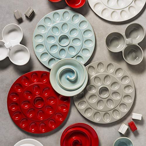 Ceramic Deviled Egg Serving Platter