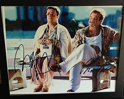 (The Birdcage Robin Williams Nathan Lane 8X10 Signed Photo Autograph Auto Framed)