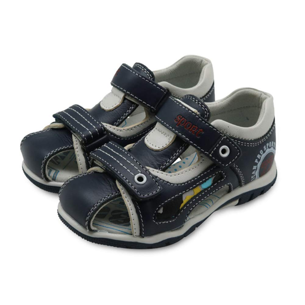 Mubeuo Leather Hiking Beach Outdoor Boys Toddler Sandals for Kids