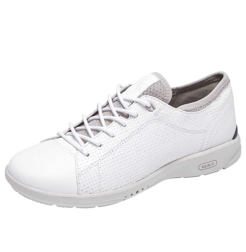 Rockport Women's Truflex W Lace to Toe Sneaker B077CTYXMJ 8.5 B(M) US|White
