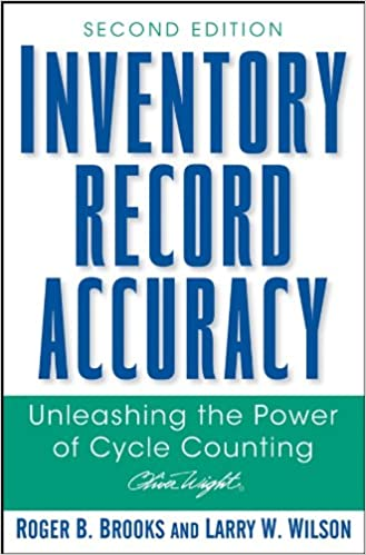 inventory record accuracy brooks roger b wilson larry w