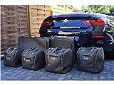 BMW 6 Series F12 Cabriolet Cabrio Cab Luggage Baggage Bag Case Set