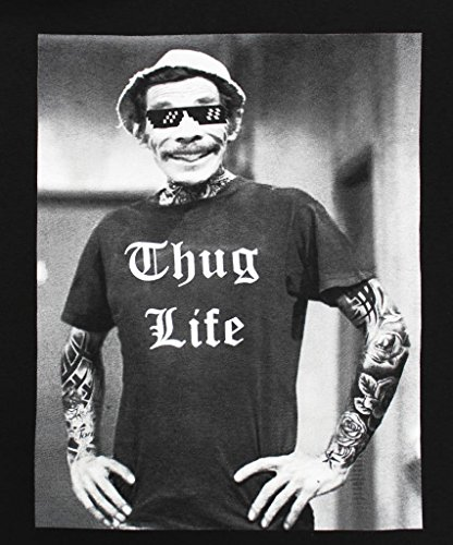 af2c59cb tees geek Don Ramon Thug Life Men's Funny T-Shirt - Buy Online in ...