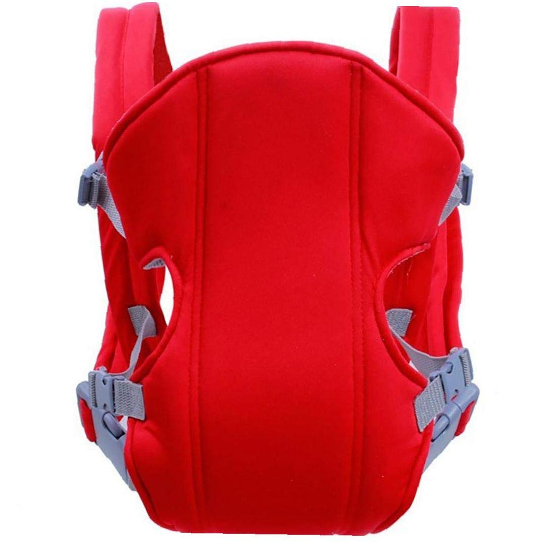 YZLSM Transpirable Suave Porta Beb/é Anverso Portaobjetos Envolvente Beb/és Ergon/ómico Honda Mochila Red Portador del Portador De Beb/é del Abrigo del Beb/é Portador De La Honda