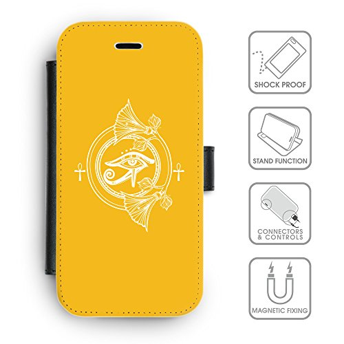 Flip PU Leather Wallet Case avec des fentes de carte de crédit // Q09800602 Religion 20 ambre // apple iPhone 6s 2015