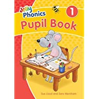 Jolly Phonics Pupil Book 1: in Precursive Letters (British English edition)