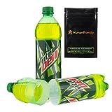 Mountain Dew Diversion Safe Secret Bottle Stash Can w HumanFriendly Smell-Proof Bag