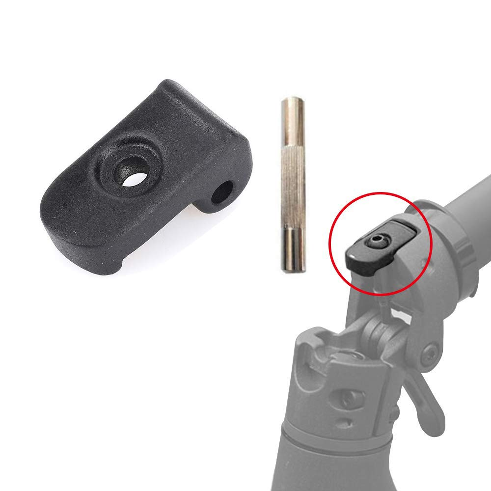 aibiku Folding Buckle//Folding Hook with Pin for Xiaomi Mijia M365 Electric Scooter Replacement Part Accessory
