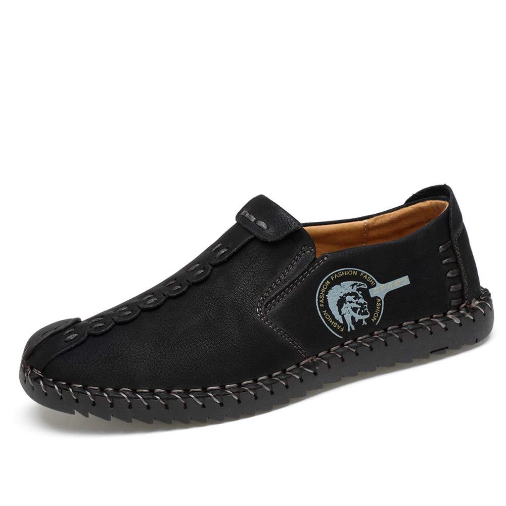 Uomo Casual Scarpe Basse Mocassini Outdoor Pelle Sandali Oxford Sneakers Sportive