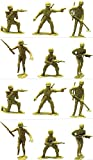 S.S Jumbo Army Men 4.75'' Large Soldiers - 1Dozen (12 Soldiers Jumbo Army Men)