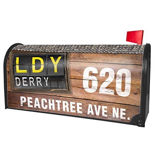NEONBLOND Custom Mailbox Cover LDY Airport Code for -