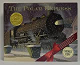 The POLAR EXPRESS signed Hardcover Book by author and illustrator Chris Van Allsburg