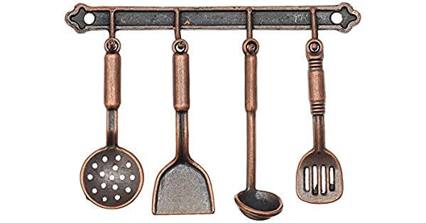 Amazon.com: OULII 1: 12 Dollhouse Accesorios de cocina ...