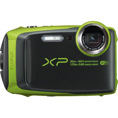 Fujifilm FinePix XP120 Waterproof Digital Underwater Camera USA Model (Lime)