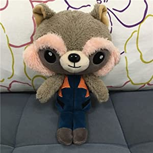 Guardians of the Galaxy 2 Plush Toy Figure Ravager Baby Groot Rocket Star Lord(rocket)