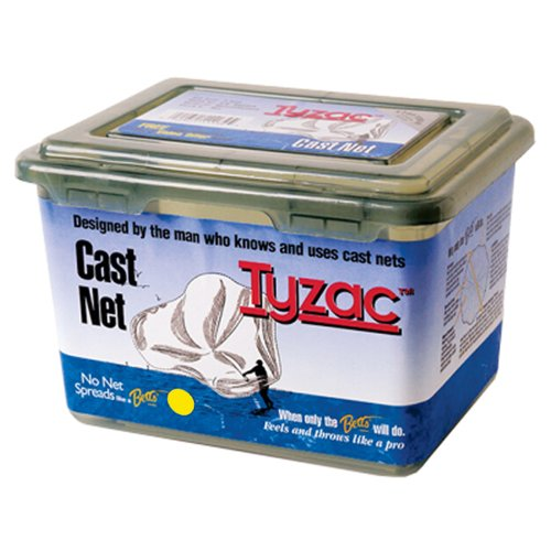 Betts Tyzac 3.5 foot Nylon Cast Net 1/4 inch (Nylon Cast Nets)