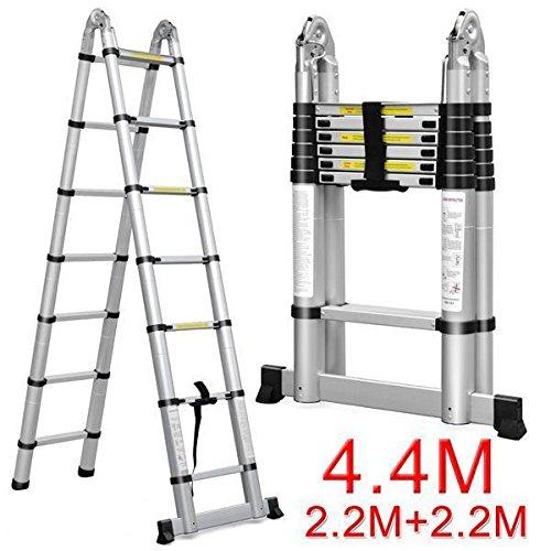 Folding Extension Ladder : Easyfashion ft multipurpose