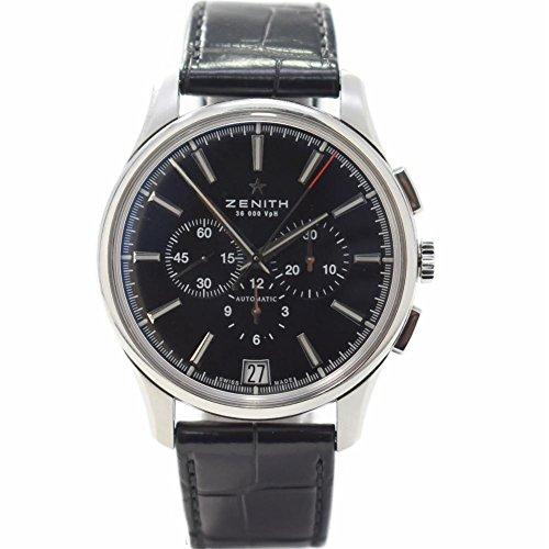 Zenith El Primero Swiss-Automatic Male Watch 03.2110.400/22.C493 (Certified Pre-Owned)