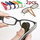 Ikevan Glasses Sunglasses Eyeglass Spectacles Cleaner Cleaning Brush Wiper Wipe Kit