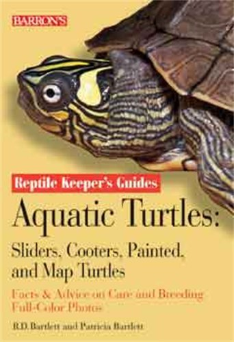 Aquatic Turtles: Sliders, Cooters, Painted, and Map Turtles (Reptile Keeper
