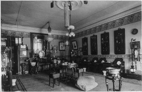 photo-the-reception-hallin-home-of-wealthy-shanghai-merchantc1931china