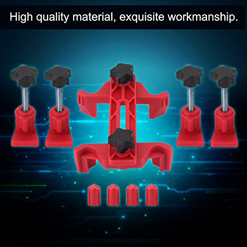 Cam Camshaft Clamp,9pcs Car Auto Dual Cam Clamp Camshaft Engine Timing Belt Sprocket Gear Locking Tool Kit by Estink (Image #1)
