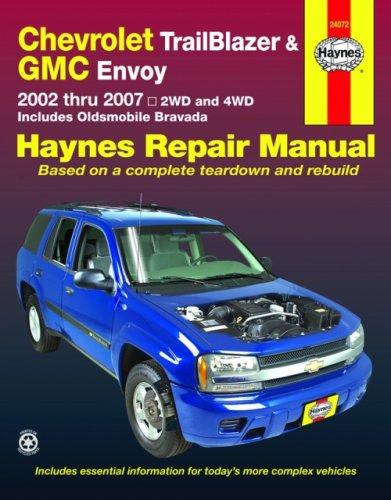 Chevrolet Trailblazer GMC Envoy & Oldsmobile Bravada Automotive Repair Manual