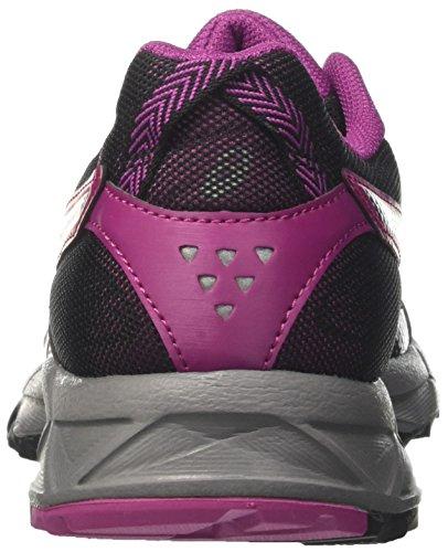 Black Baton Asfalto Mujer Gel de Zapatillas Multicolor para Asics 9032 Sonoma para Running Rouge Black 3 R6fFqFxw7