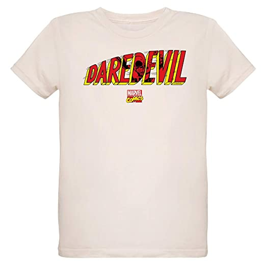 01ec2141785 Amazon.com  CafePress Daredevil Logo Organic Kids T Shirt Organic ...