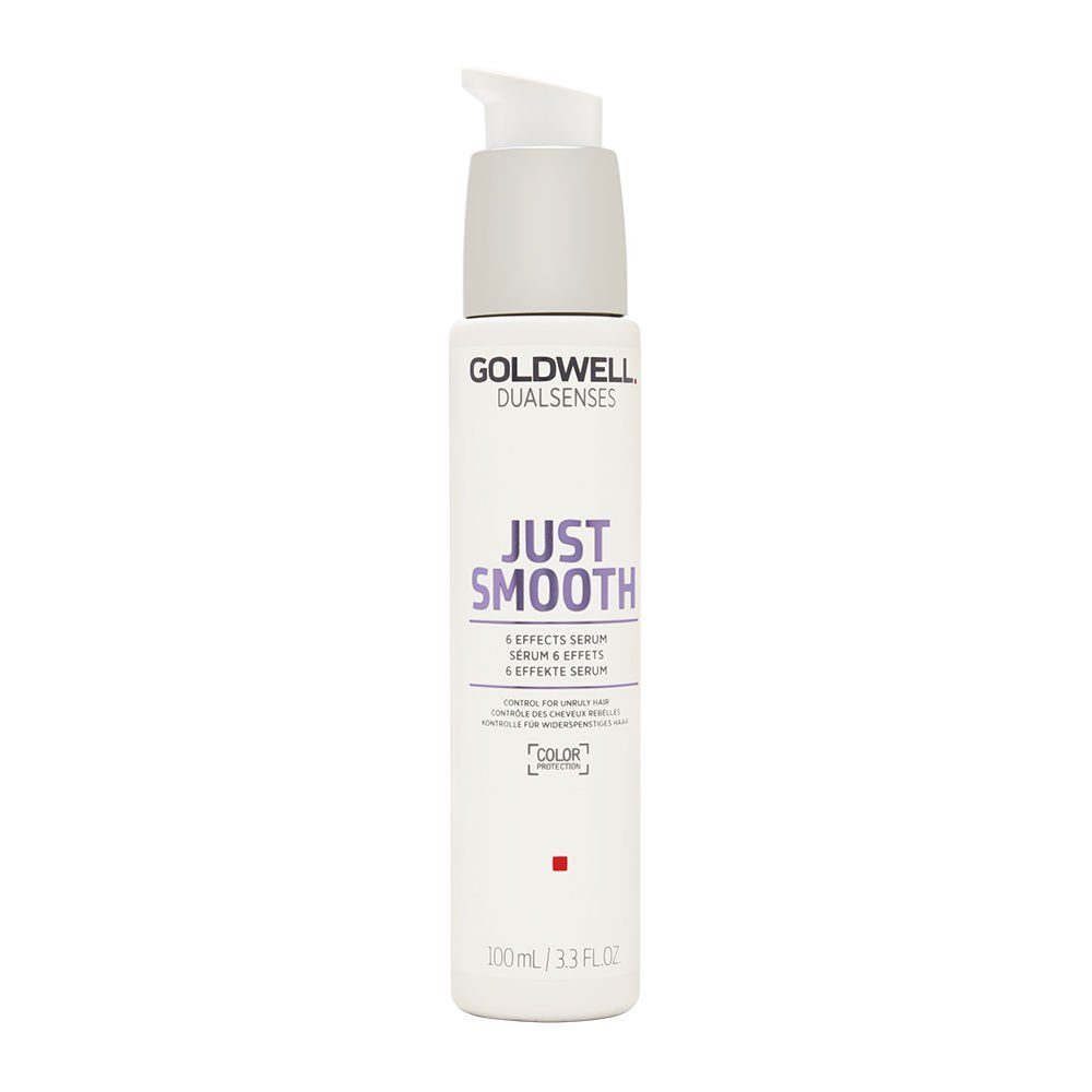 Goldwell Dualsenses Just Smooth 6 effetti del siero, 1er Pack (1 X 100 ML) 4021609061298