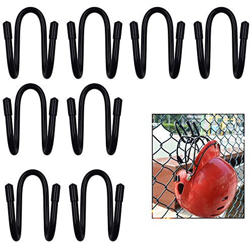 Baseball Helmet Bags - YYST Fence Helmet Gloves Hanger Holder Dugout Organizer - Organize Your Helmets and Gloves Off The Ground - Softball & Baseball Sports Equipment Caddy - No Helmet (8)
