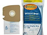 eureka vacuum commercial parts - Eureka Part#60295C - Style MM Vacuum Bag Replacement for Eureka Mighty Mite 3670 and 3680 Series Canisters by EnviroCare Part#153-9 - 9/Package
