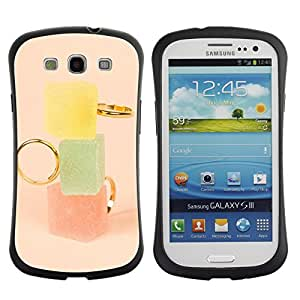 Suave TPU GEL Carcasa Funda Silicona Blando Estuche Caso de protección (para) Samsung Galaxy S3 I9300 / CECELL Phone case / / Marmalade Pastel Colors Fashion /