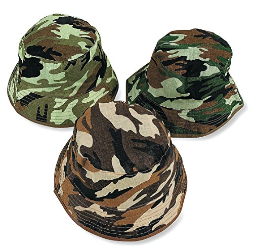 ChildS Camouflage Bucket Hats dozen