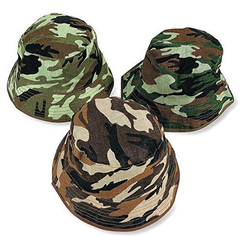 ChildS Camouflage Bucket Hats dozen
