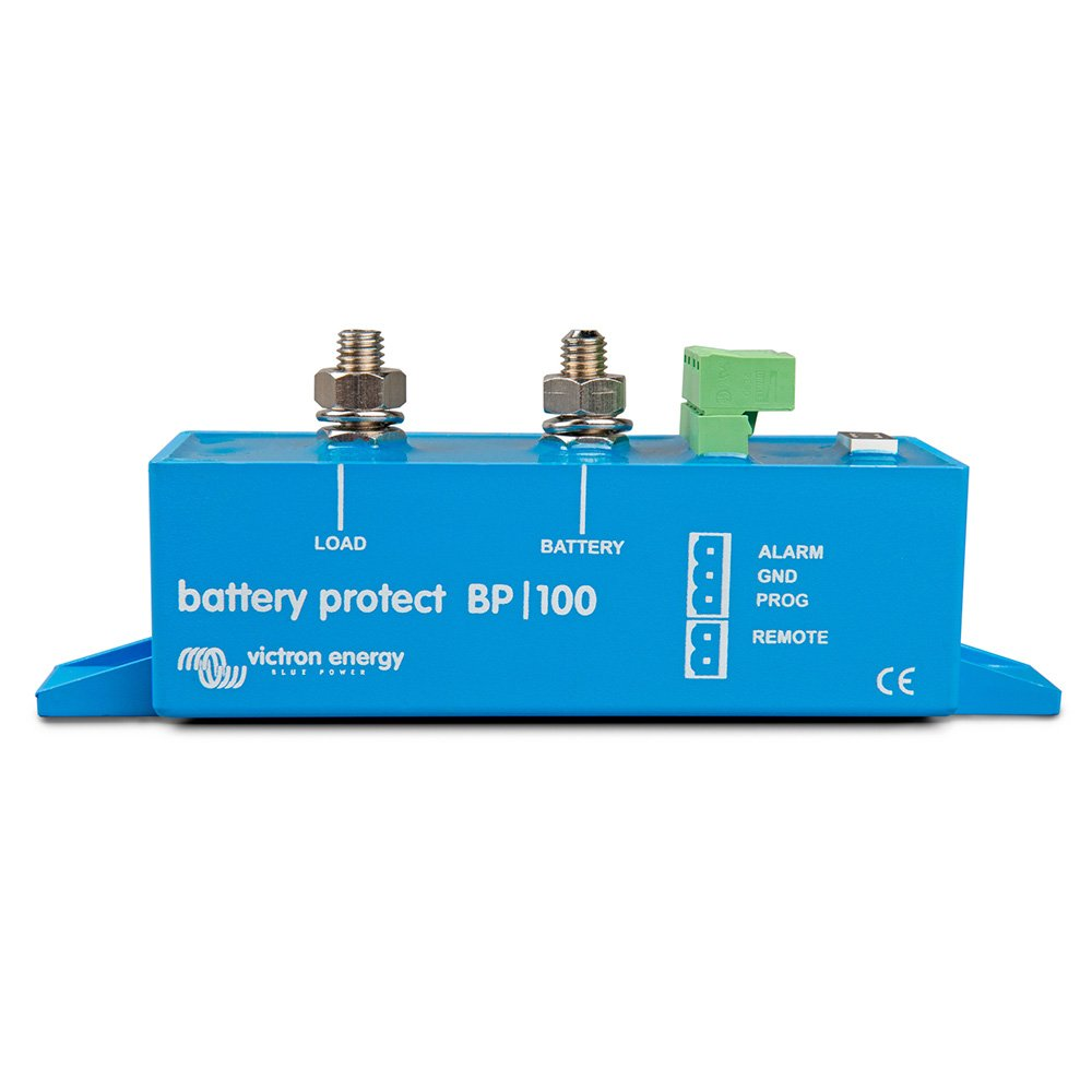 Victron Battery Protect 12/24V 100 Amp disconnects the battery before it is completely discharged Victron Energy BPR000100400